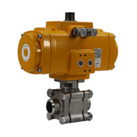 Butt Weld Heavy Duty Stainless Steel Actuation Ball Valves Elomatic
