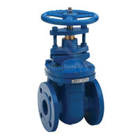 Ductile Iron Gate Valves PN16 Bronze Trim Inside Screw Non Rising Stem