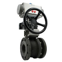 FB Pekos Ball Valves Pneumatic Air Actuated De-Clutch Manual Override