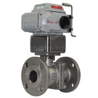 Flanged ANSI 300 Stainless Steel Koei Electric Actuated Ball Valves