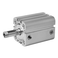 Aventics Pneumatics Compact Cylinder Series KPZ 0822492103 Single Acting extended without pressure