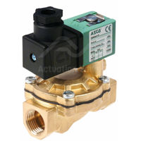 "1/2"" Asco Solenoid Valves SCG238A047 Brass BSPP 2/2 Normally Closed"