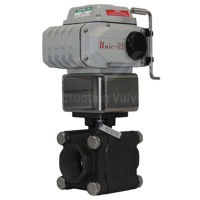 Socket Weld Heavy Duty WCB CS Unic Electrically Actuated Ball Valves