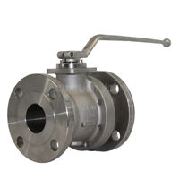 Stainless Steel CF8M Pekos Full Bore Ball Valves PN40