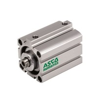 Asco Compact Cylinders and Actuators G441A3SK0050A00 Light Alloy Double Acting Single Rod