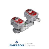 "0.25"" BSPP WSLPKFG551A310 Asco Process Automation Solenoid Valves Pilot Operated 230 VAC Brass"