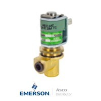 6MM Push-In USE257A002 Asco Dust Collector Solenoid Valves Direct Acting 25 AC Stainless Steel