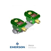 """0.25"""" BSPP EMXG551A403 Asco Process Automation Solenoid Valves Pilot Operated 24 VDC Brass"""