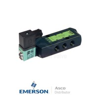 "0.25"" BSPP SCXG551A017MS Asco Numatics Process Automation Solenoid Valves Pilot Operated 24 VDC Brass"