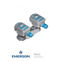 "0.25"" BSPP LIG551A310 Asco Process Automation Solenoid Valves Pilot Operated 24 VDC Brass"