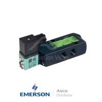 "0.25"" BSPP SCG551A017SL Asco Numatics Process Automation Solenoid Valves Pilot Operated 230 VAC Brass"