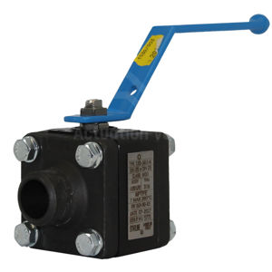 Butt Weld SCH80 Carbon Steel Ball Valve LF2 Starline Master Star Lever