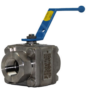 Starline Screwed Master Star Ball Valves F316 Stainless Steel 3PCE FB