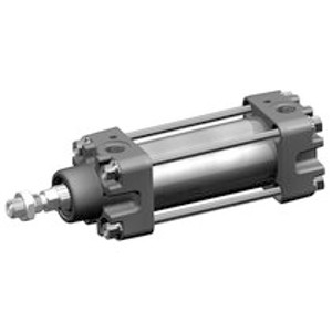 Aventics Pneumatics Tie Rod Cylinder ISO 6431 Series 167 1670532000 Double Acting