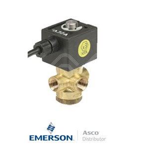 """0.25"""" NPT PVB320A194 Asco Numatics General Service Solenoid Valves Direct Acting 24 VDC Stainless Steel"""