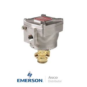 """0.25"""" NPT NF8327B062 Asco General Service Solenoid Valves Direct Acting 230 VAC Brass"""