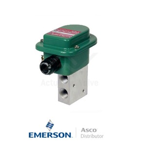 """0.5"""" BSPP WPETG327A610 Asco General Service Solenoid Valves Direct Acting 230 VAC Brass"""