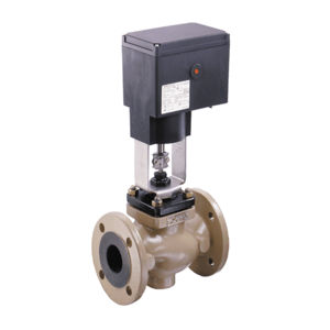 Light Industrial Flanged Basic Process Globe Control Valve V2001/3321