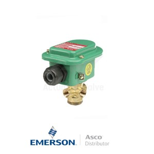 "0.25"" NPT EMB320B174 Asco General Service Solenoid Valves Direct Acting 24 VDC Light Alloy"
