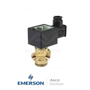 """0.25"""" NPT SCB320A180 Asco General Service Solenoid Valves Direct Acting 24 VAC Stainless Steel"""