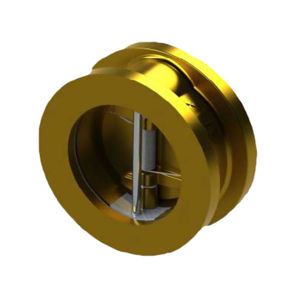 417 Twin Plate Wafer Check Valves Aluminium Bronze Body And Disc