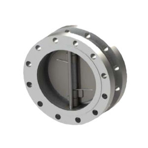 437U Double Flanged Dual Plate Wafer Check Valves LLC Low Temp Carbon