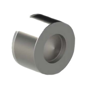 945 Stainless Steel CF8M Sprung Type Wafer Check Valves AIS 316 Disc