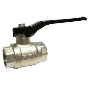 Screwed Brass Ball Valves Lever Operated Industrial Oxygen Degreased