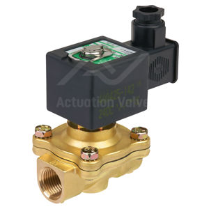 "1/2"" Asco Solenoid Valves SCE210C094 Brass BSPT Two Way N/C Pilot Op"