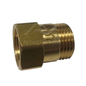 Brass Mini Check Valves POM Disc Rated To 16 Bar Male Female Options