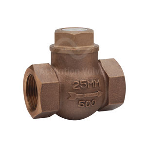 Bronze Body PN32 Horizontal Lift Check Valves Reinforced PTFE Seats