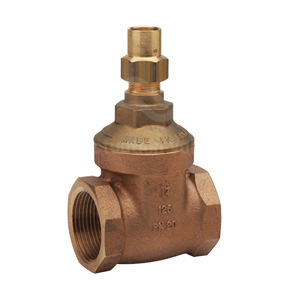 Bronze Lockshield Gate Valves Screwed BSPP PN20 Rated Standard Pattern
