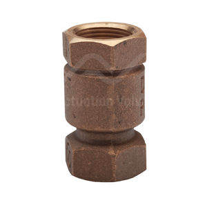 Bronze Vertical Lift Check Valves Maximum Pressure Rated 25 Bar BSPP