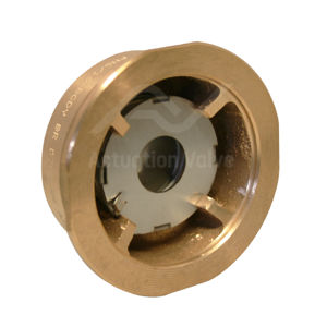 Economy Brass Wafer Spring Disc Check Valves Brass Body Multiflange