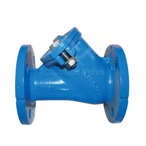 Flanged PN10 Epoxy Coated Ductile Iron Ball Check Valves NBR Buna Seat