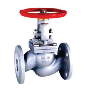 Flanged PN16 Stainless Steel CF8M Globe Valves Rising Stem Handwheel