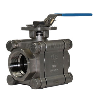Heavy Duty 316 CF8M Stainless Steel Screwed Ball Valves ATEX Approved