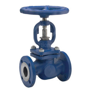 High Pressure PN40 Cast Steel Body & Bonnet SS Disc & Stem Globe Valve