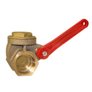 Lever Operated Manual Gate Valve Brass Body Screwed BSPP PN16 Rated