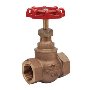 PN32 Screwed NPT Bronze Globe Valves Integral Seat Max Temp 198 DegC