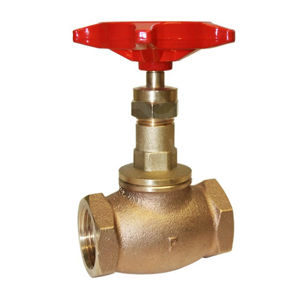 Pegler PN32 Rated Bronze Globe Valves Renewable PTFE Disc Screwed BSPT
