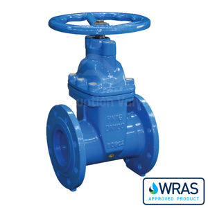 Resilient Soft Seated EPDM Flanged PN16 Wras Gate Valve Ductile Iron