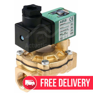 "1/2"" Asco Solenoid Valves SCG238A046 Brass BSPP 2/2 Normally Closed"