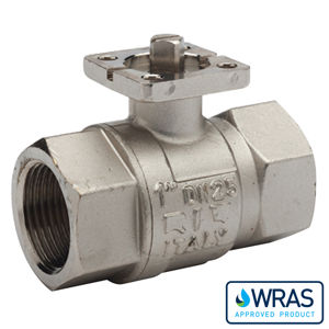 Screwed Brass Ball Valves Bare Shaft Wras Approved Direct Mount FB