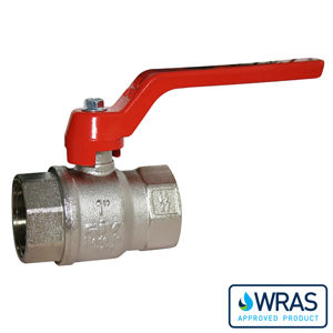 Screwed BSPP Brass Ball Valves Lever Wras Approved Standard Pattern