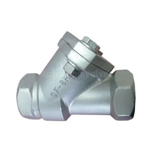 Stainless Steel BSPP Threaded Connection 316 Ball Type Check Valves