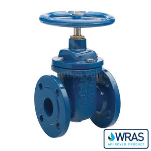Wras Approved Flanged PN16 Ductile Iron Gate Valves Epoxy Coated NRS
