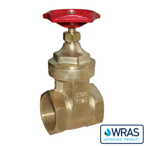 Wras Approved Screwed Brass Gate Valves PN25 Full Bore Heavy Duty