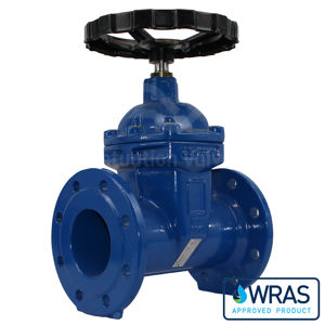 Wras Approved Ductile Iron TTV Gate Valves Epoxy Coated Potable Water