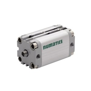Asco Numatics Compact Cylinders and Actuators G449AMSG0010A00 Light Alloy Double Acting Single Rod